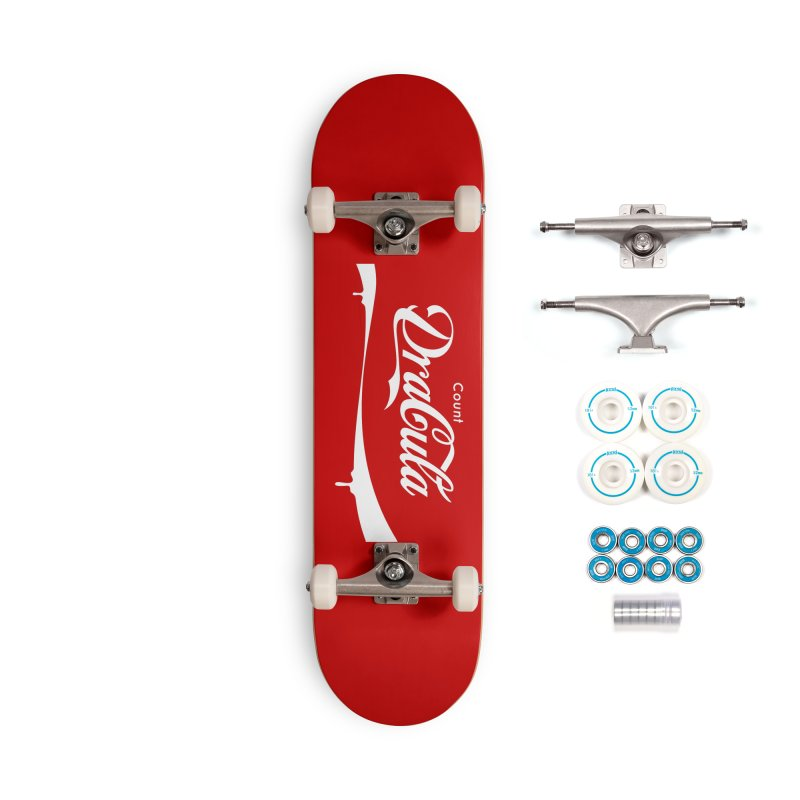 Count Dracula Accessories Skateboard by Steven Toang