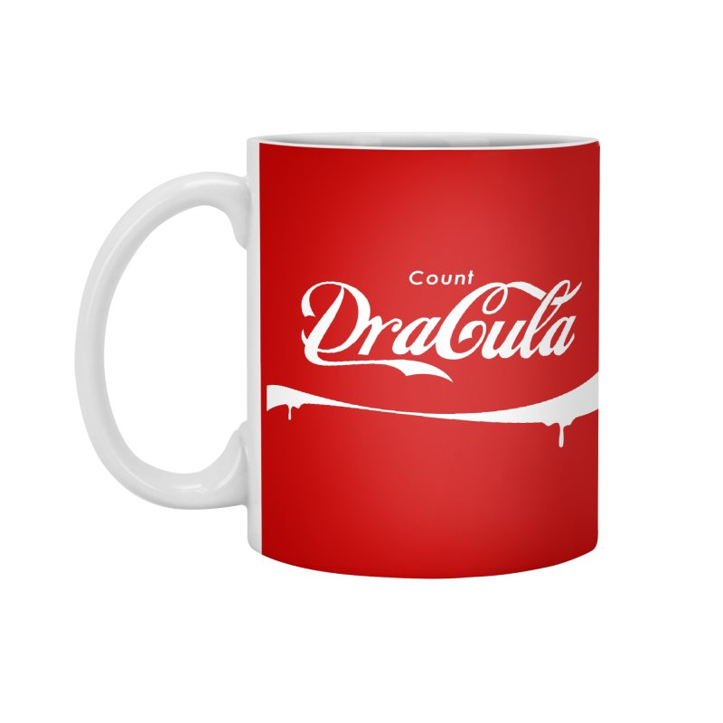 Count Dracula Accessories Standard Mug by Steven Toang
