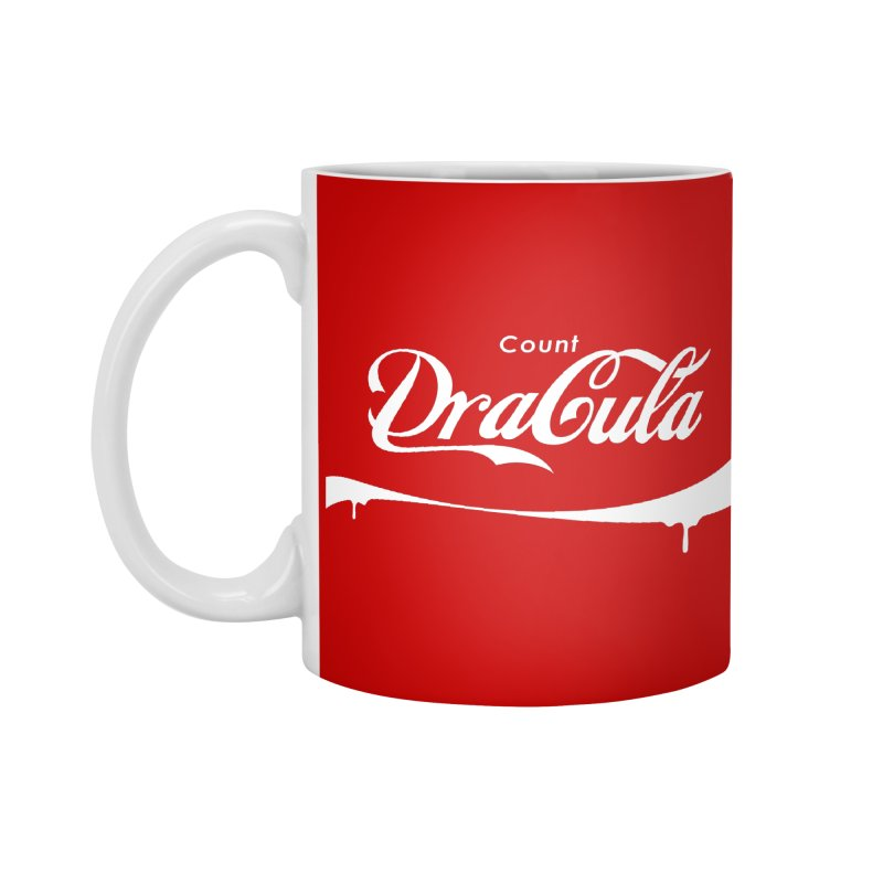 Count Dracula Accessories Mug by Steven Toang