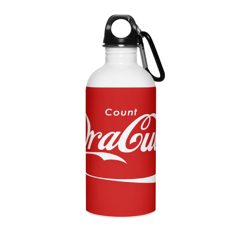 Count Dracula Accessories Water Bottle by Steven Toang