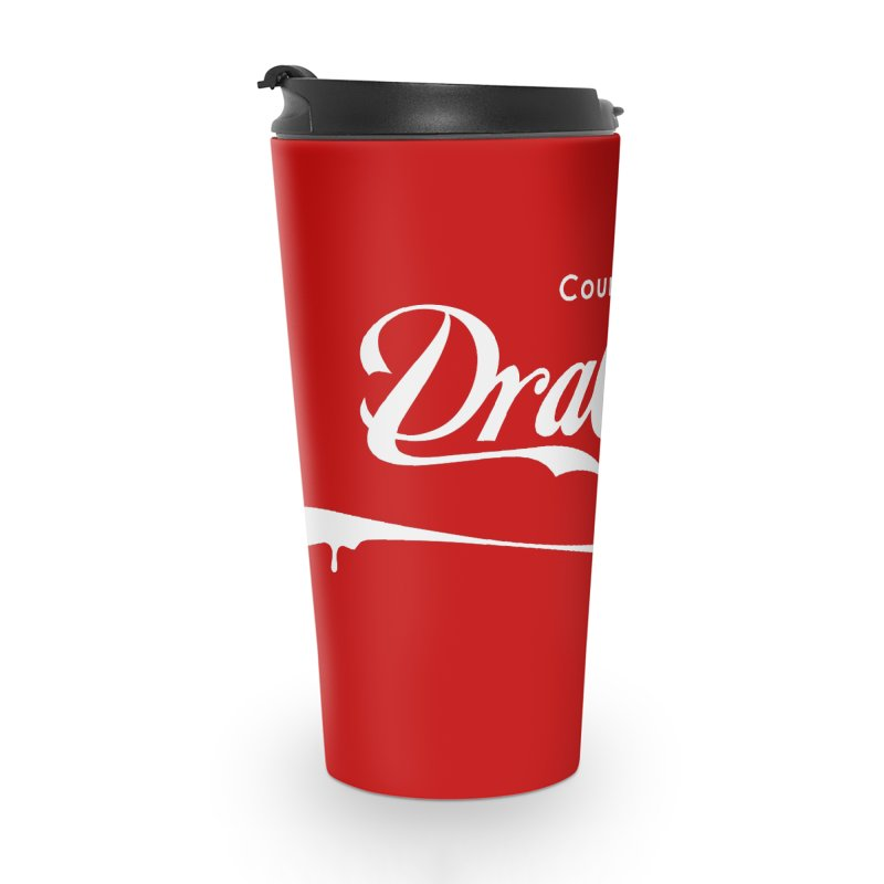 Count Dracula Accessories Travel Mug by Steven Toang