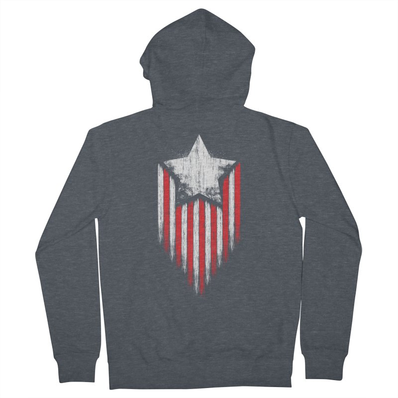 Star & Stripes Women's Zip-Up Hoody by Steven Toang