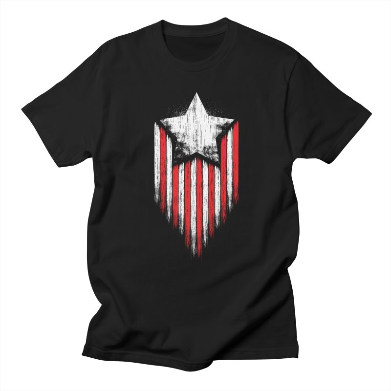 Star & Stripes Men's T-shirt by Steven Toang