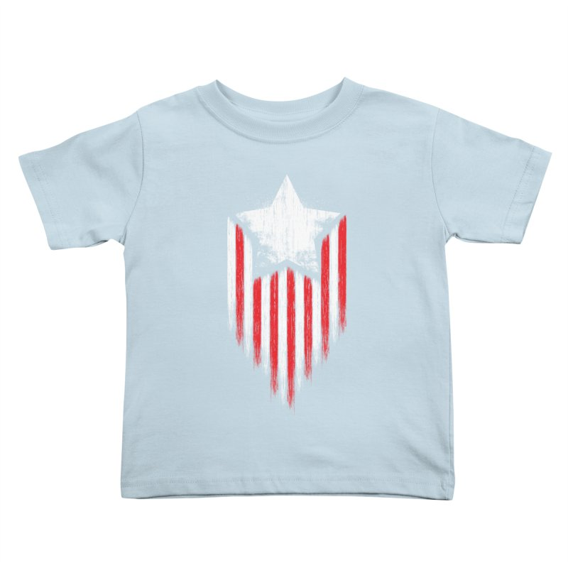 Star & Stripes Kids Toddler T-Shirt by Steven Toang