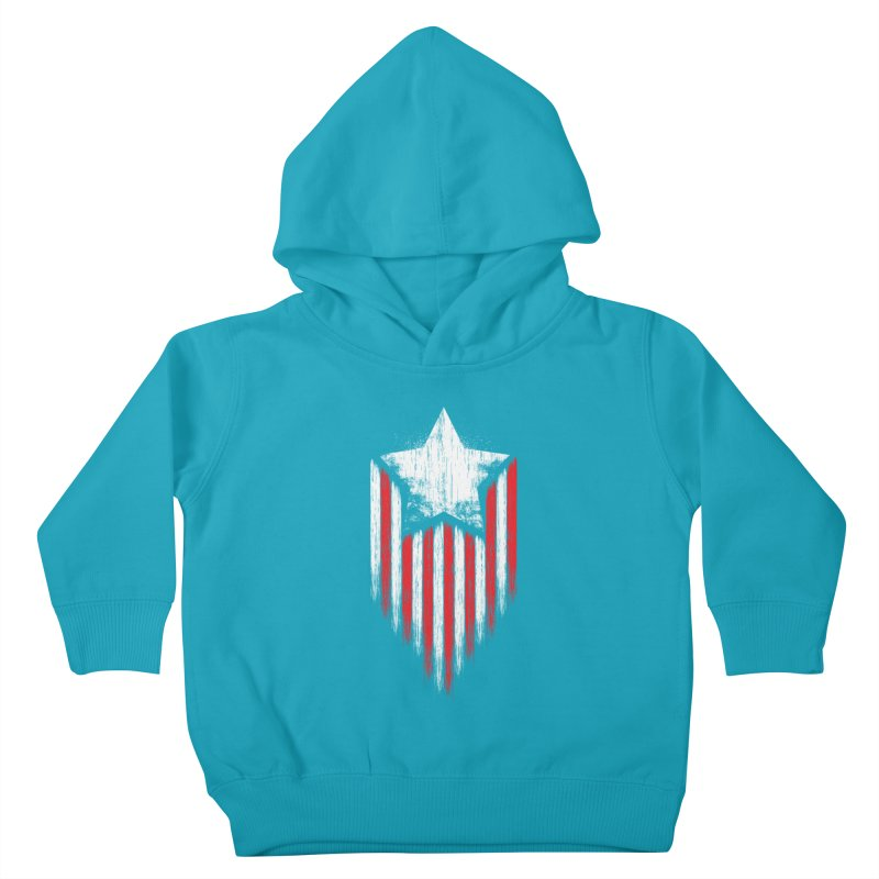 Star & Stripes Kids Toddler Pullover Hoody by Steven Toang