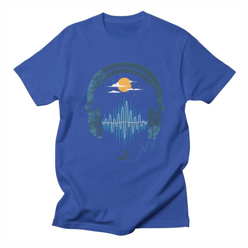 Summer Waves Men's T-shirt by Steven Toang