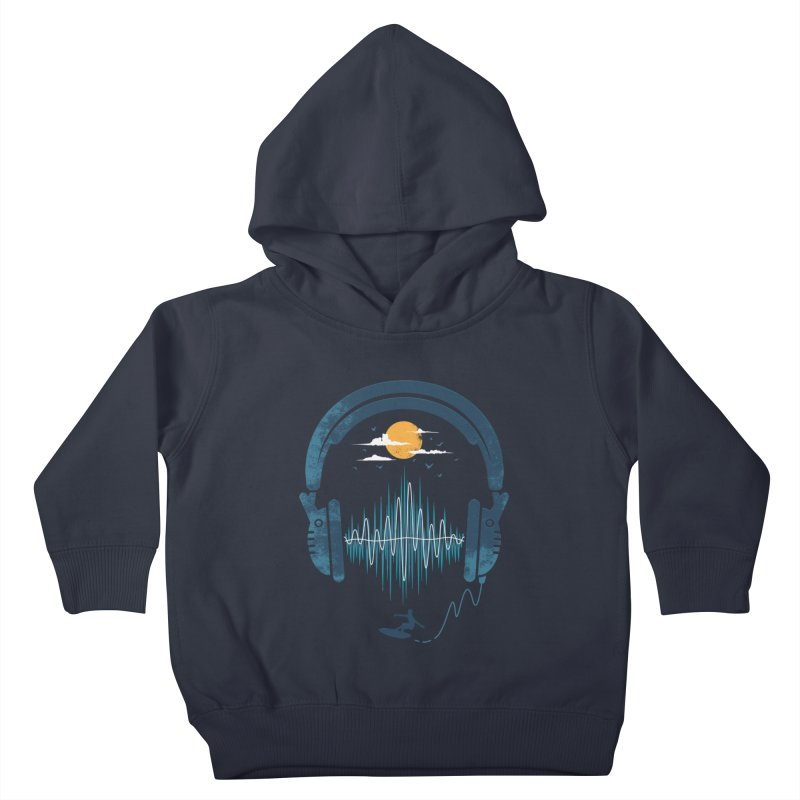 Summer Waves Kids Toddler Pullover Hoody by Steven Toang