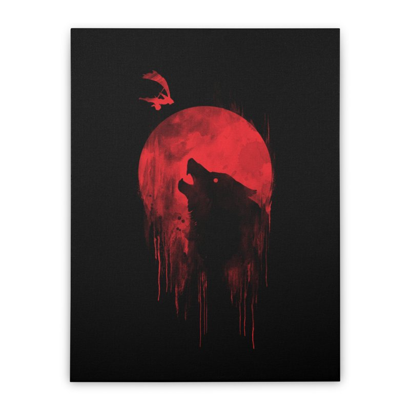 Wolf Slayer Home Stretched Canvas by Steven Toang