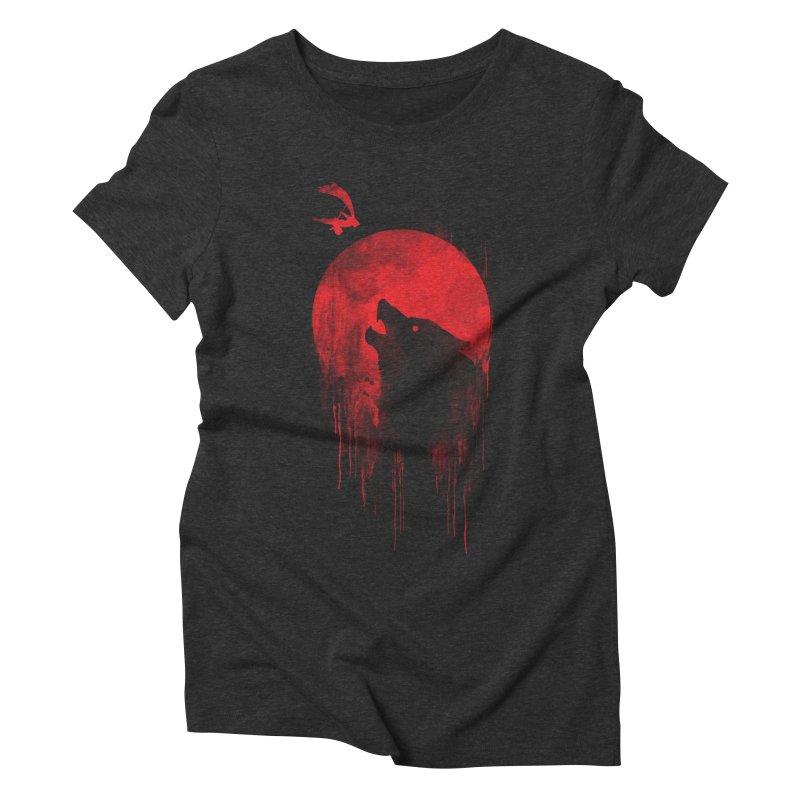 Wolf Slayer Women's Triblend T-shirt by Steven Toang