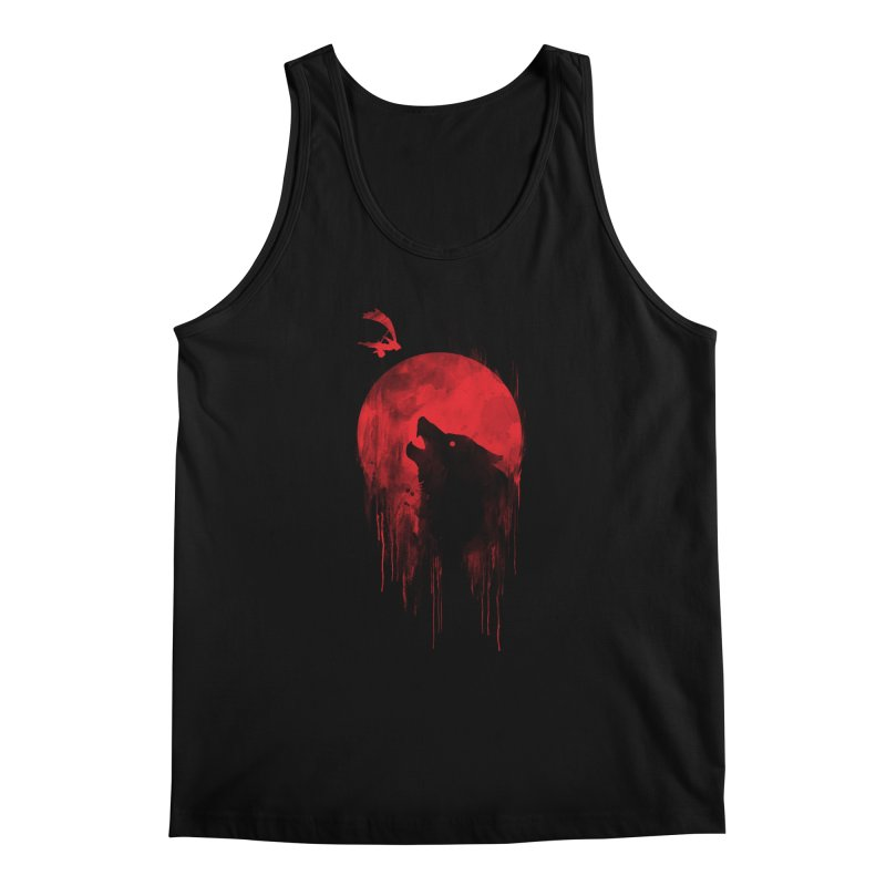 Wolf Slayer Men's Tank by Steven Toang