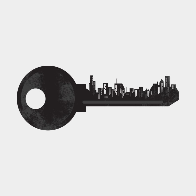 City Key Accessories Skateboard by Steven Toang