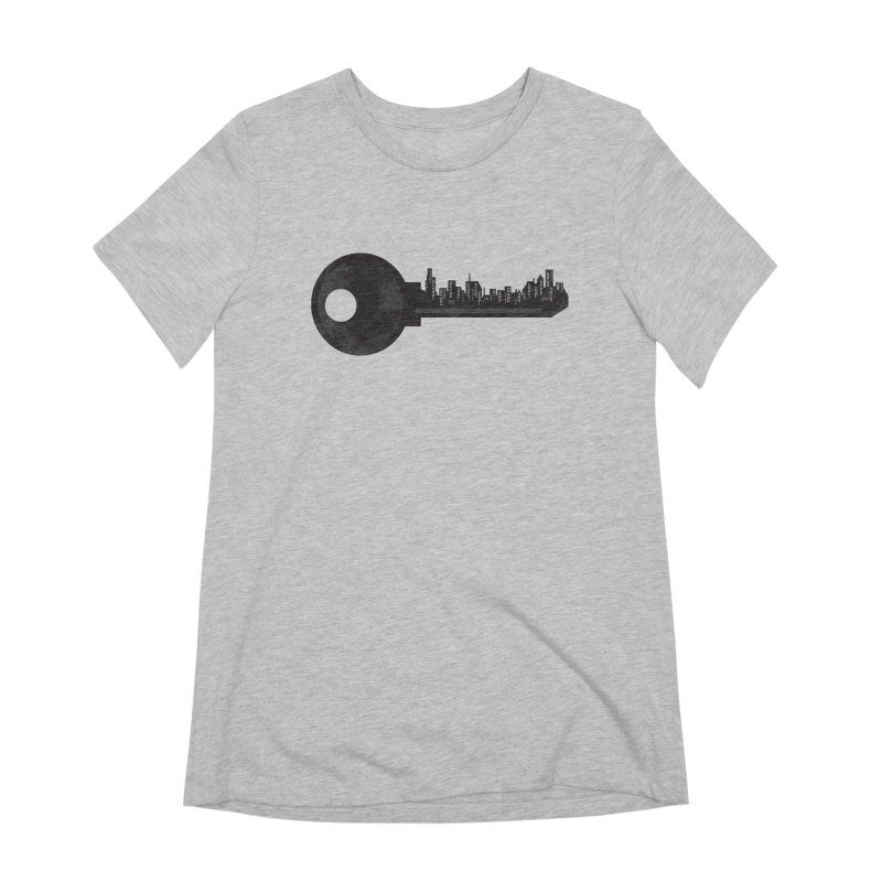 City Key Women's Extra Soft T-Shirt by Steven Toang