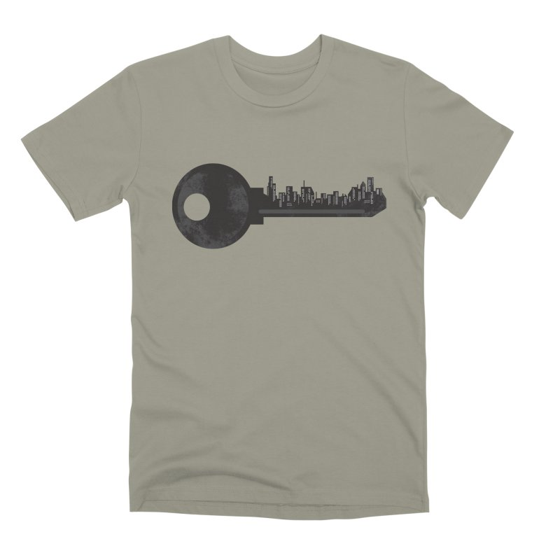 City Key Men's Premium T-Shirt by Steven Toang