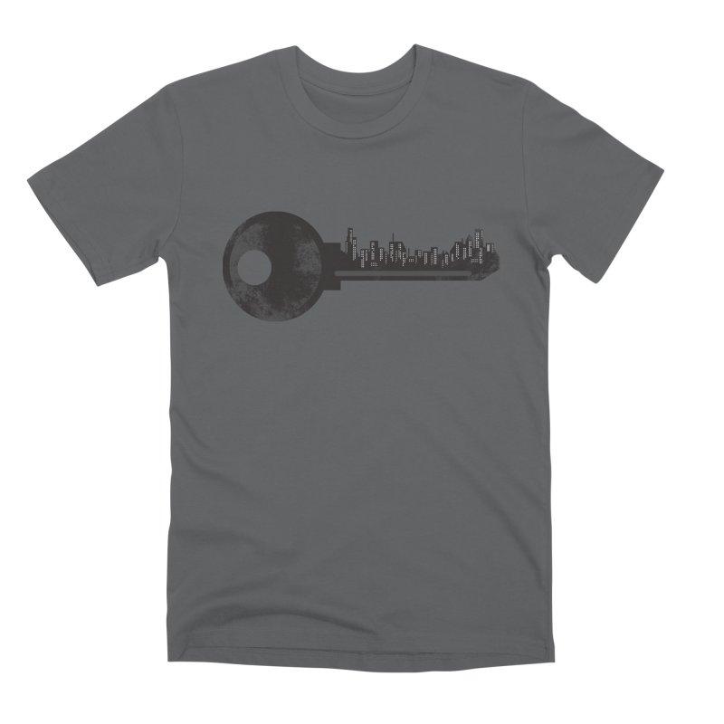 City Key Men's Premium T-Shirt by Steven Toang