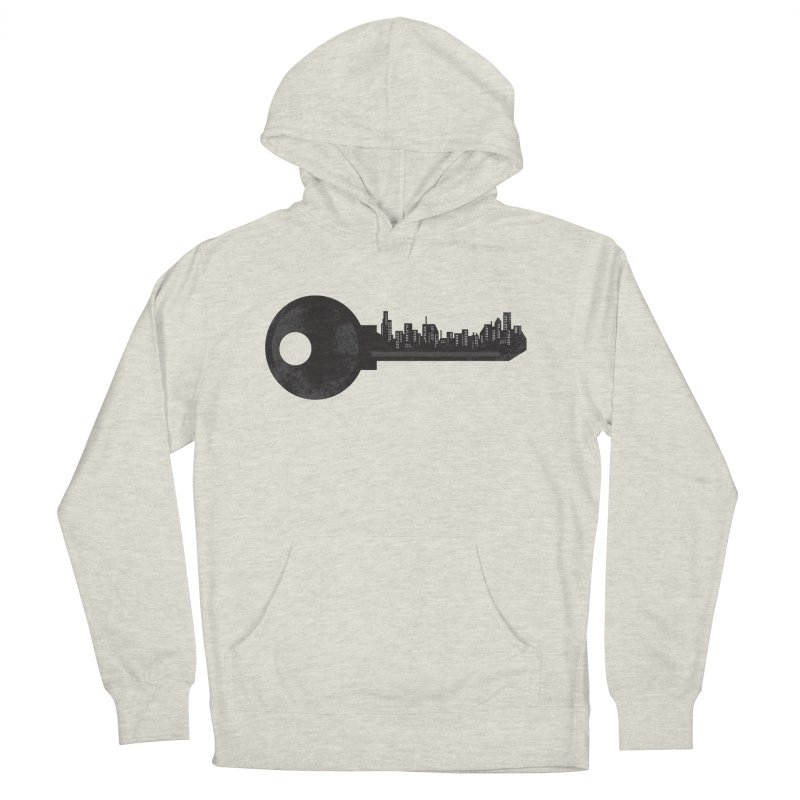 City Key Women's French Terry Pullover Hoody by Steven Toang