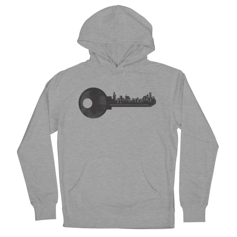 City Key Men's French Terry Pullover Hoody by Steven Toang
