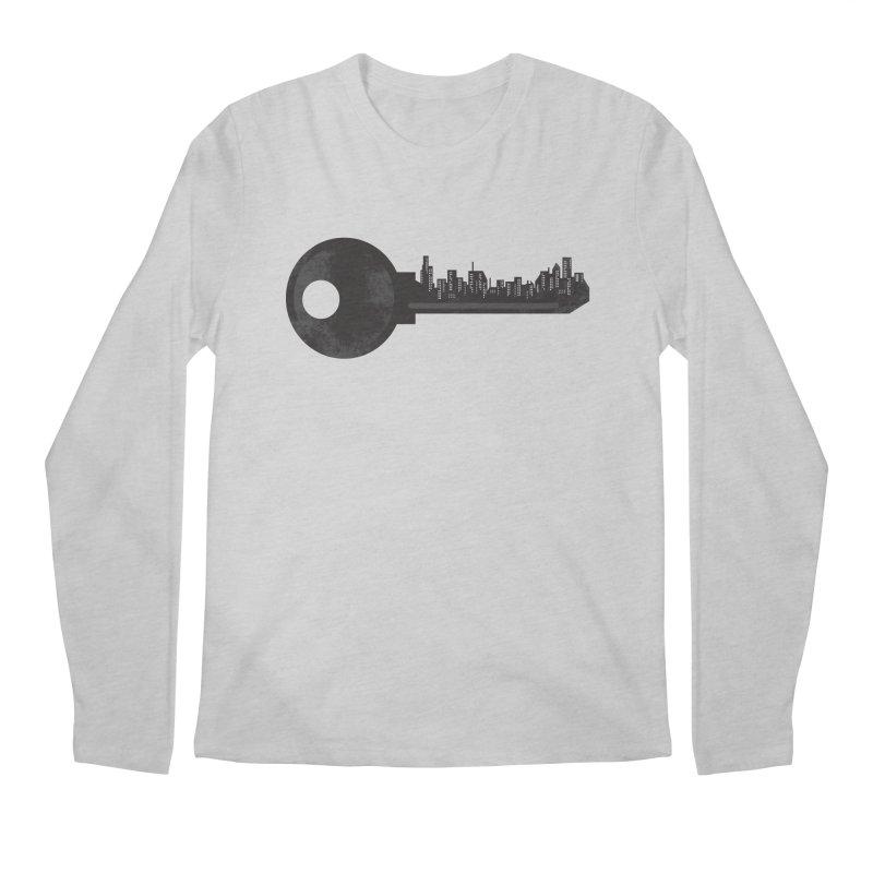 City Key Men's Regular Longsleeve T-Shirt by Steven Toang