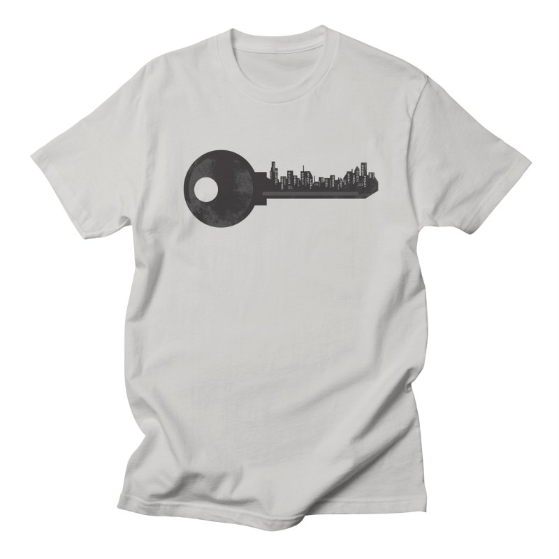 City Key Men's Regular T-Shirt by Steven Toang