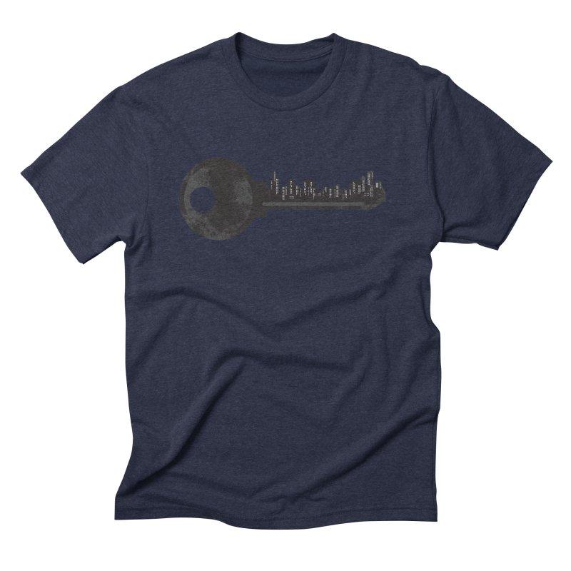City Key Men's Triblend T-Shirt by Steven Toang