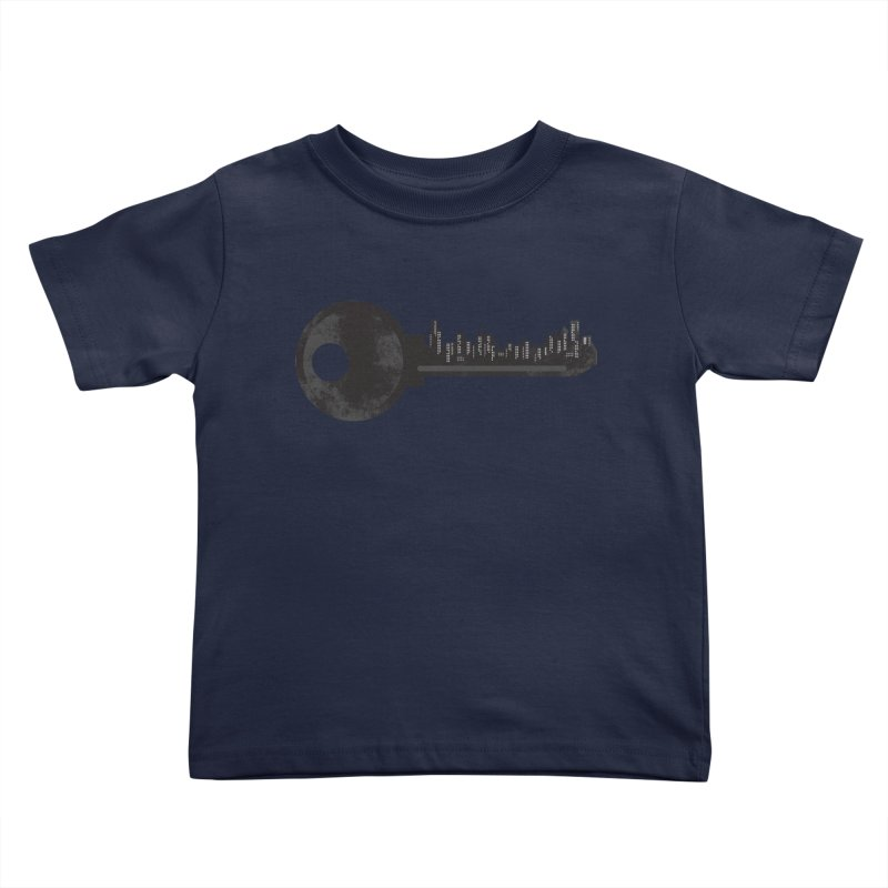 City Key Kids Toddler T-Shirt by Steven Toang