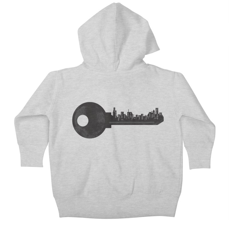 City Key Kids Baby Zip-Up Hoody by Steven Toang
