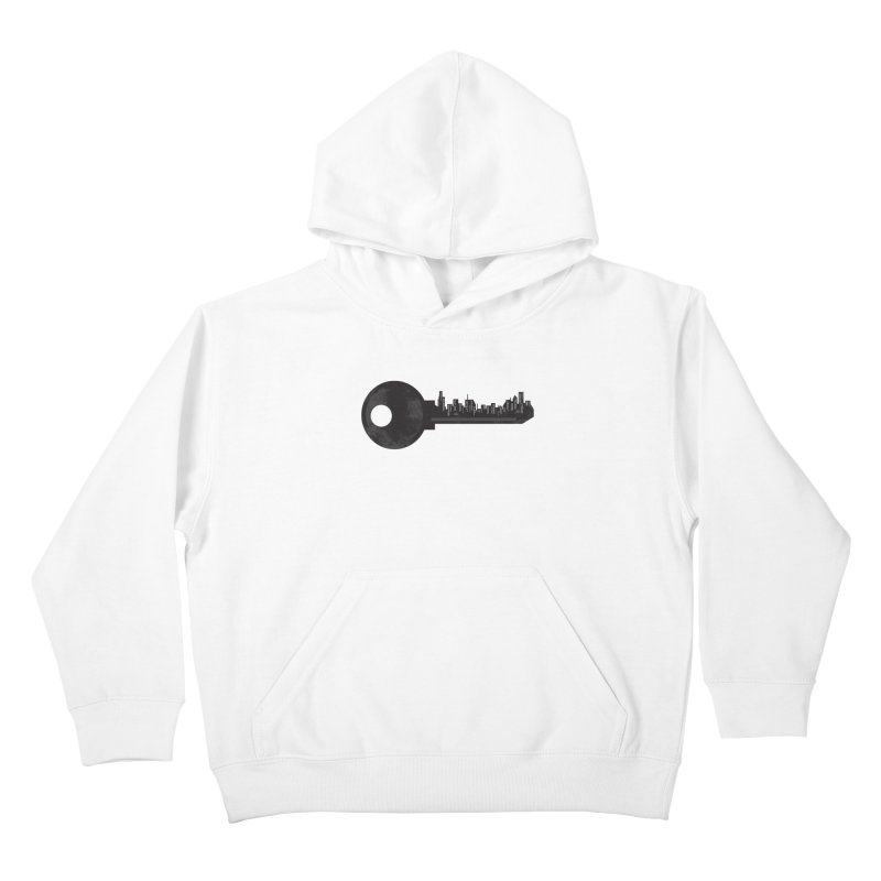 City Key Kids Pullover Hoody by Steven Toang
