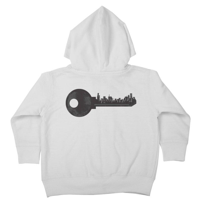 City Key Kids Toddler Zip-Up Hoody by Steven Toang
