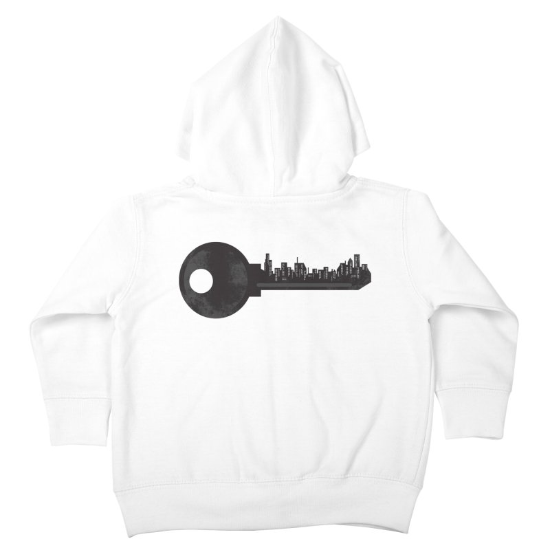 City Key Kids Toddler Zip-Up Hoody by Steven Toang