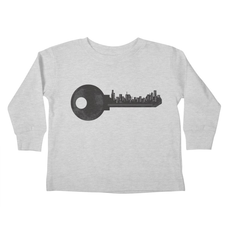 City Key Kids Toddler Longsleeve T-Shirt by Steven Toang