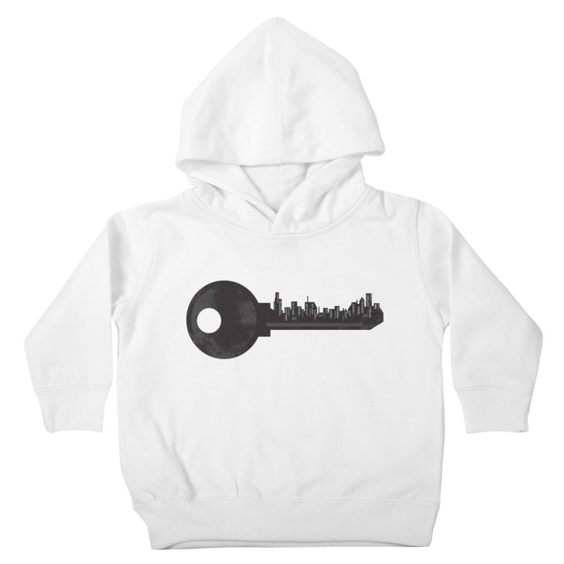 City Key Kids Toddler Pullover Hoody by Steven Toang