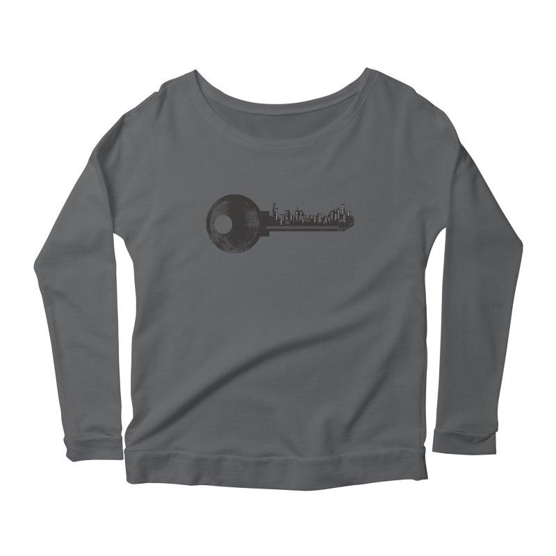 City Key Women's Scoop Neck Longsleeve T-Shirt by Steven Toang