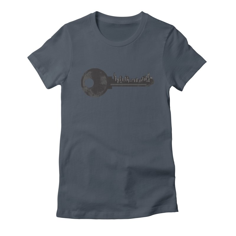 City Key Women's T-Shirt by Steven Toang