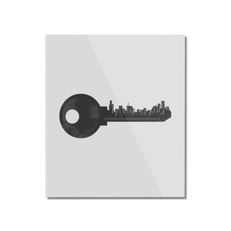 City Key Home Mounted Acrylic Print by Steven Toang