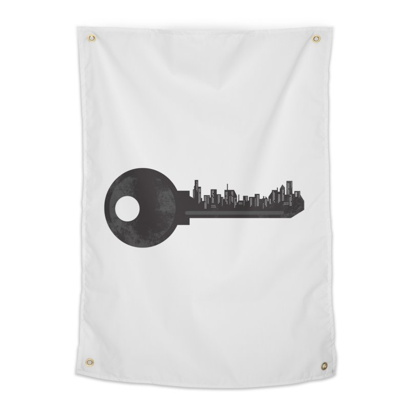 City Key Home Tapestry by Steven Toang
