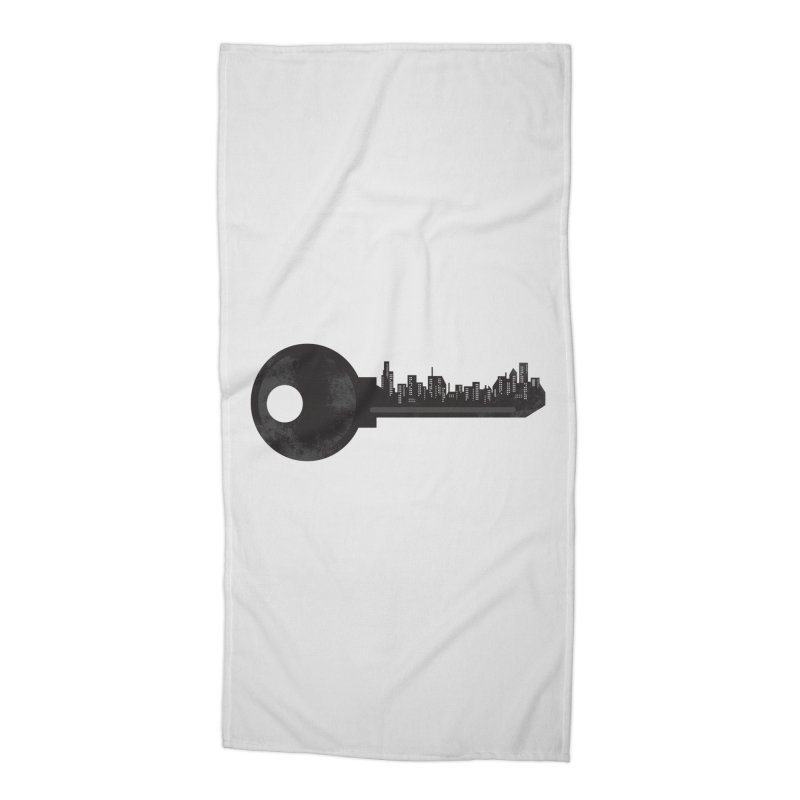City Key Accessories Beach Towel by Steven Toang