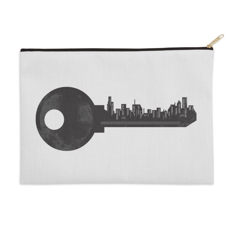 City Key Accessories Zip Pouch by Steven Toang