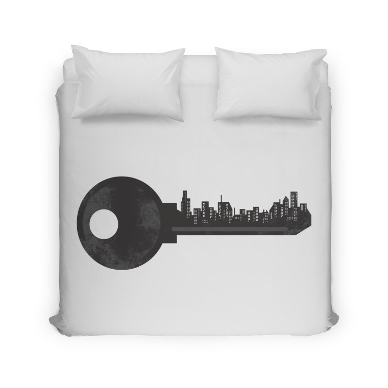 City Key Home Duvet by Steven Toang