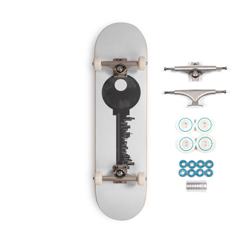 City Key Accessories Complete - Basic Skateboard by Steven Toang
