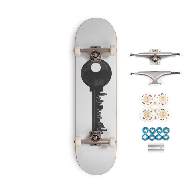 City Key Accessories Complete - Premium Skateboard by Steven Toang