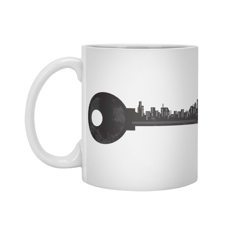 City Key Accessories Mug by Steven Toang