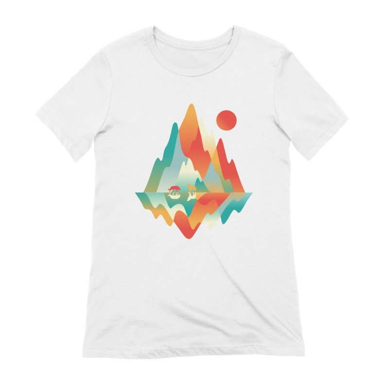 Color in the wild Women's Extra Soft T-Shirt by Steven Toang