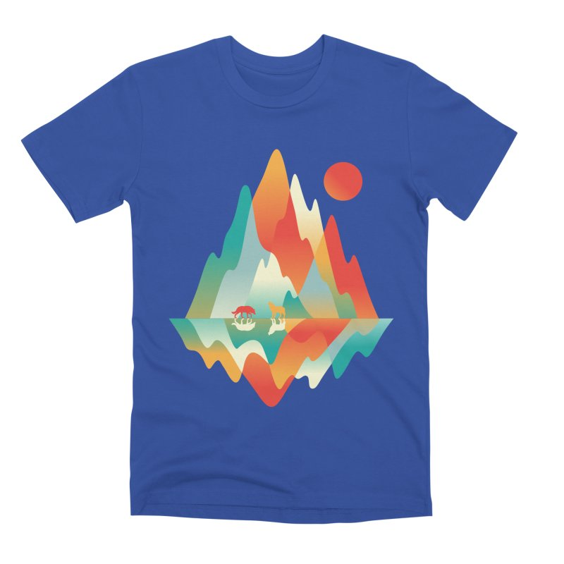 Color in the wild Men's Premium T-Shirt by Steven Toang
