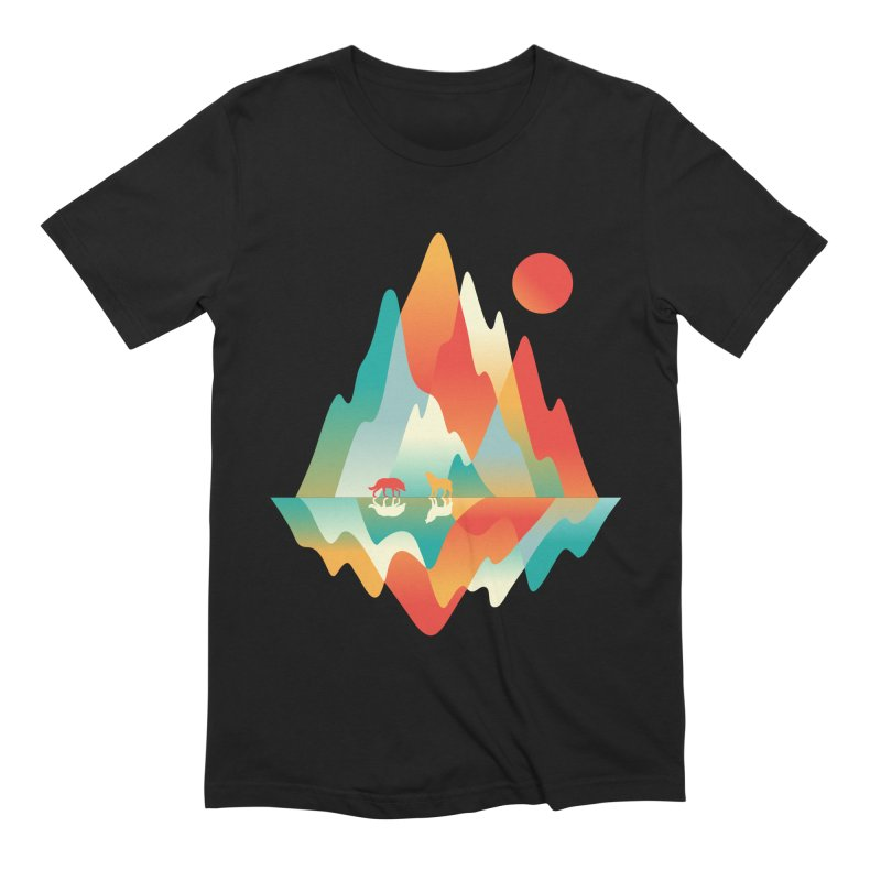 Color in the wild Men's Extra Soft T-Shirt by Steven Toang