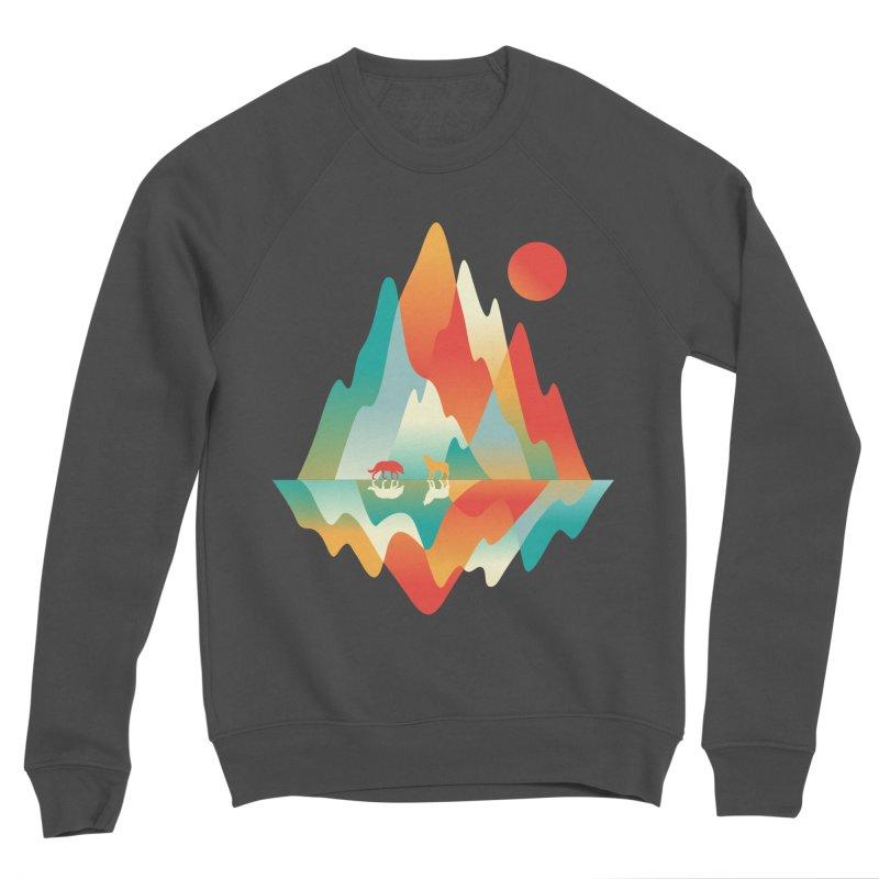 Color in the wild Men's Sponge Fleece Sweatshirt by Steven Toang