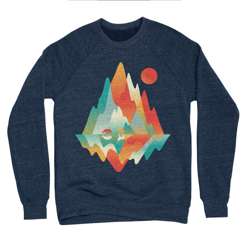 Color in the wild Women's Sponge Fleece Sweatshirt by Steven Toang
