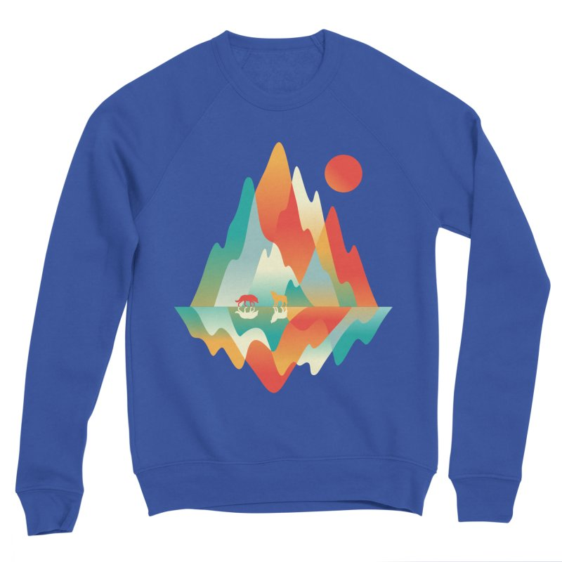 Color in the wild Men's Sweatshirt by Steven Toang