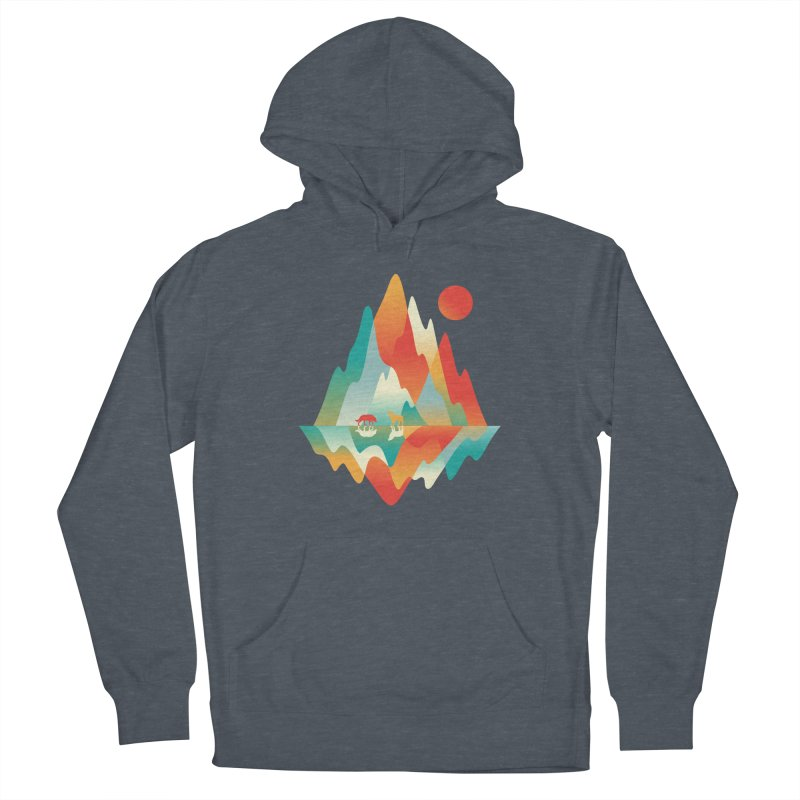 Color in the wild Men's Pullover Hoody by Steven Toang