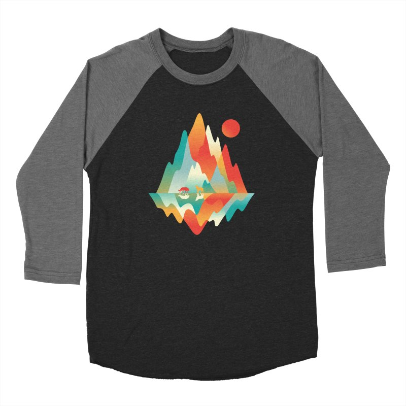 Color in the wild Women's Baseball Triblend Longsleeve T-Shirt by Steven Toang