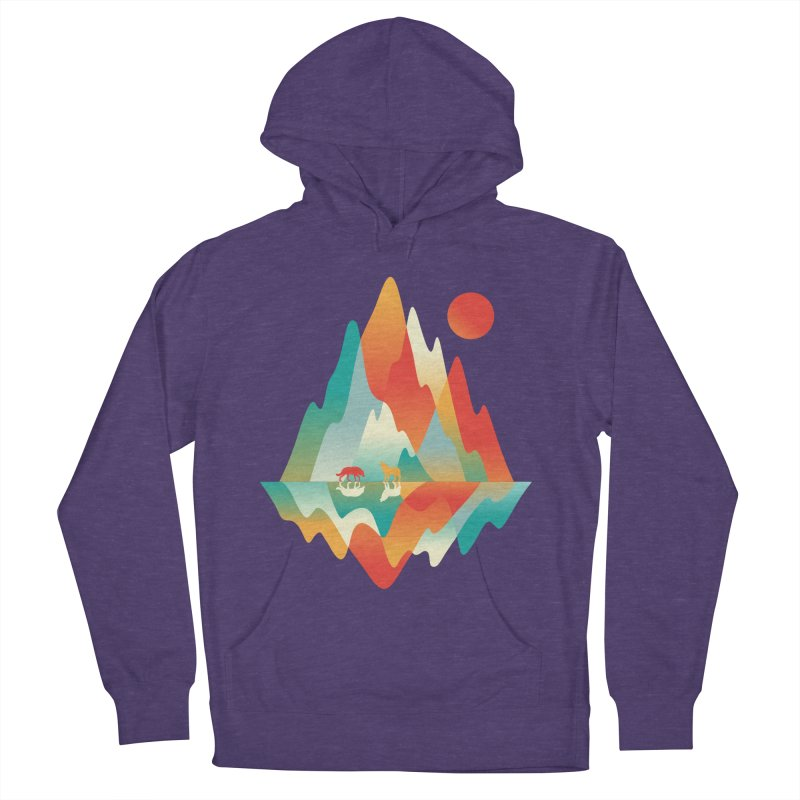 Color in the wild Men's French Terry Pullover Hoody by Steven Toang
