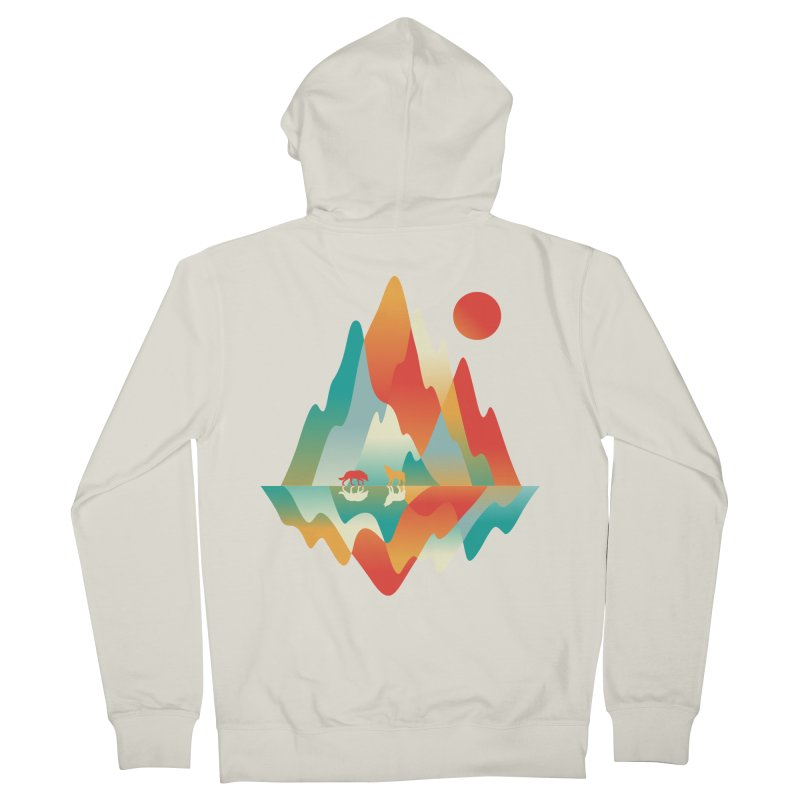 Color in the wild Men's Zip-Up Hoody by Steven Toang